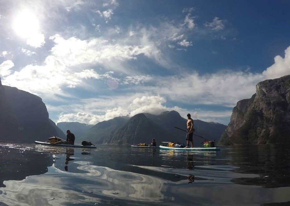 SUP Norway - Stand up paddling - Aurlandsfjord