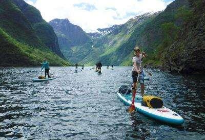 SUP Norway - Happy