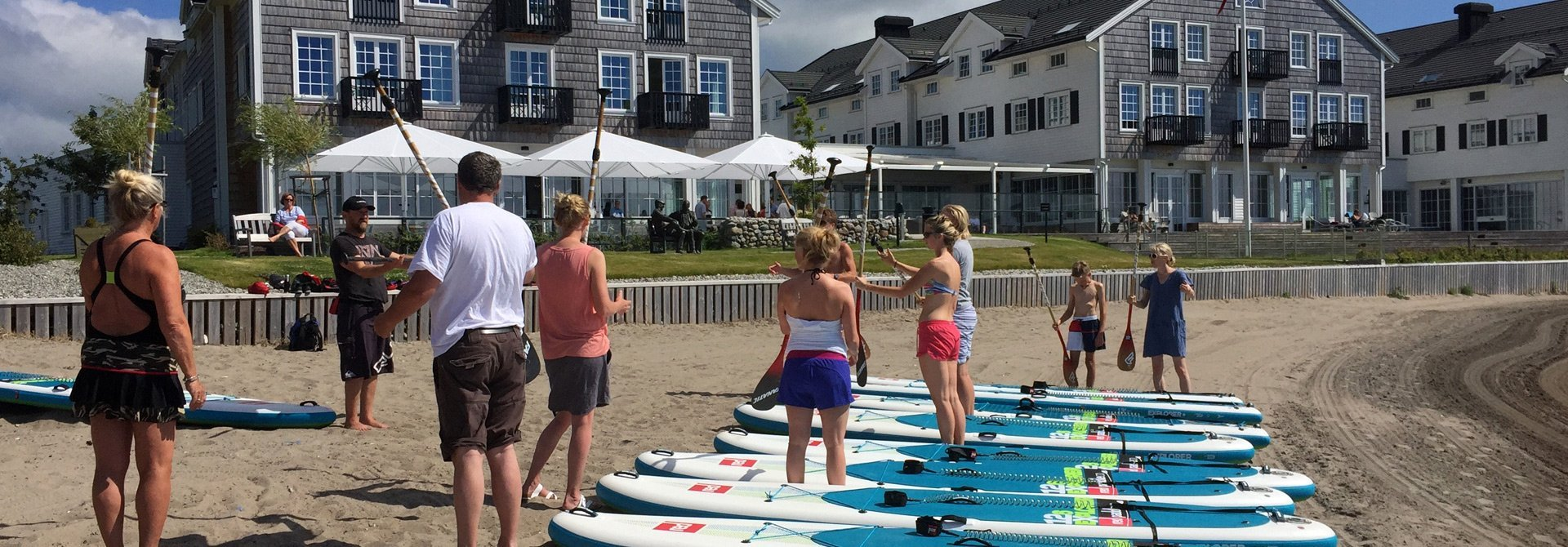 SUP Norway - Stand up paddle - Kurs på Støtvig hotell 3