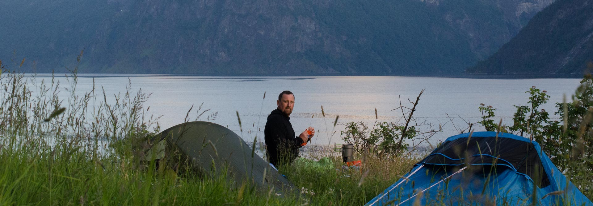 SUP Norway - Camping on Aurlandsfjord