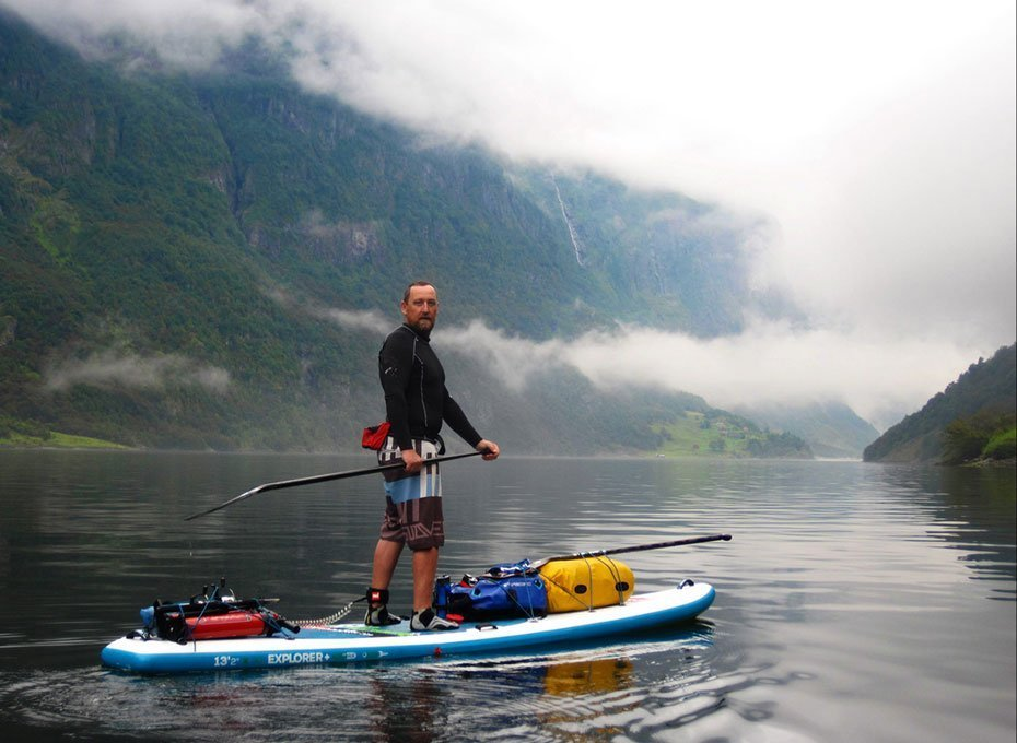 SUP Norway - Stand up paddling - Titus (Chief instructor)